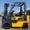 Газ-бензиновый погрузчик Nissan с мачтой триплекс  - Изображение #6, Объявление #1696554