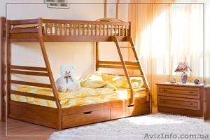 """Детская двухъярусная кровать \""""Юлия\"""" - Изображение #1, Объявление #264743"""