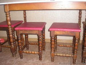 Продам стол и стулья Б/У Румыния: - Изображение #1, Объявление #768704