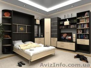Кровать-шкаф на заказ Донецк. Дизайн, кредит - Изображение #1, Объявление #1093605