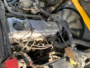 Газ-бензиновый погрузчик Nissan с мачтой триплекс  - Изображение #7, Объявление #1696554