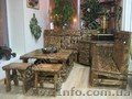 Состаренная мебель для кафе