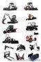 Запчасти для экскаваторов,мини-погрузчиков,бульдозеров Hyundai, Bobcat, Shantui, Объявление #393607
