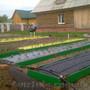 Грядки для органического земледелия.
