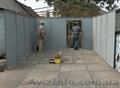 Металлический гараж в Донецке изготовление и установка