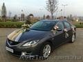 Авто на свадьбу Mazda 6 New с украшениями