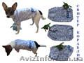Одежда животным свитер Кораблик