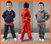 Брендовый спортивный костюм Ferrari для мальчиков