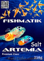 Соль для инкубации яиц артемии Fishmatik Premium Class,  250 g
