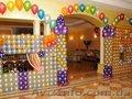 Оформление шарами частных праздников. Шары на детский День рождения Донецк