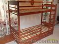 Массивная Двухъярусная кровать  из дерева ольха. - Изображение #6, Объявление #516095