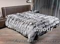 Пошив меховых пледов,  покрывал,  ковров,  подушек в Донецке