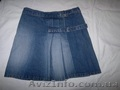 Юбка джинсовая с запАхом,  р-р 42-44