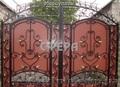 Кованые ворота, распашные, откатные, решетчатые, металлические калитки - Изображение #2, Объявление #865535