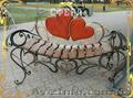 Кованые лавочки, скамейки для сада, кованые изделия от производителя. - Изображение #4, Объявление #865569