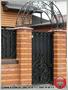 Кованые решетки, заборы, калитки, ворота, ограждения. - Изображение #7, Объявление #1289871