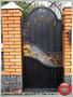 Кованые решетки, заборы, калитки, ворота, ограждения. - Изображение #8, Объявление #1289871