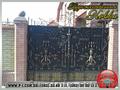 Ворота кованые, сварные, решетчатые, арочные под заказ. - Изображение #4, Объявление #1037241