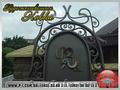 Кованые решетки, заборы, калитки, ворота, ограждения. - Изображение #10, Объявление #1289871