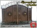 Ворота филенчатые «шоколадка» под заказ. - Изображение #6, Объявление #1037246