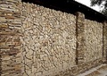 окатанная мозаика из песчаника природного